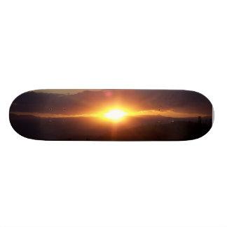bright skateboard deck