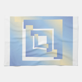 bright sky colors nb tea towel