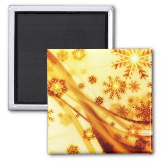 Bright Snowflake Fridge Magnet