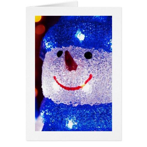 Bright Snowman Card