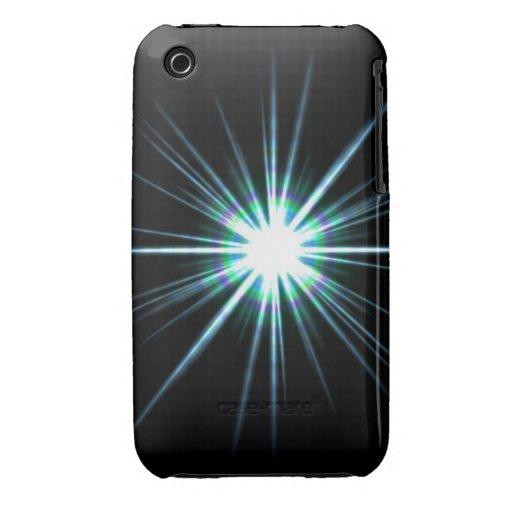Bright Solar Flare Burst iPhone 3 Cases