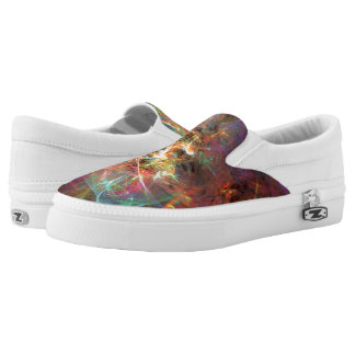 Bright Space Printed Shoes