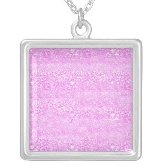 Bright Sparkle Silver Plated Necklace