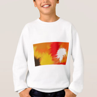 Bright splash of paint. sweatshirt