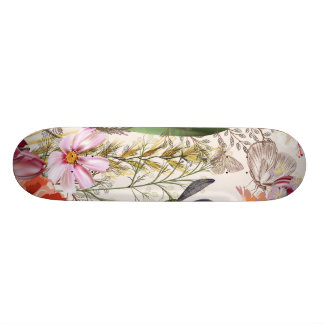 Bright spring field. Romantic pattern 20 Cm Skateboard Deck