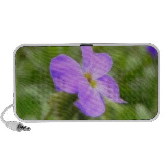 Bright Spring Rock Cress Flower Travel Speaker