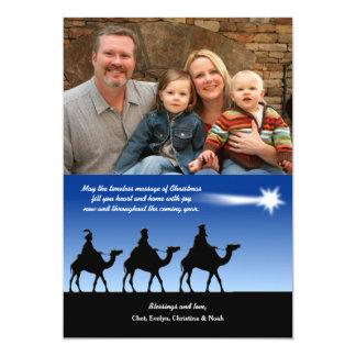 Bright Star Photo Christmas Card 13 Cm X 18 Cm Invitation Card