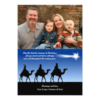 Bright Star Photo Christmas Card