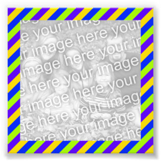 Bright Stripes Frame Photo