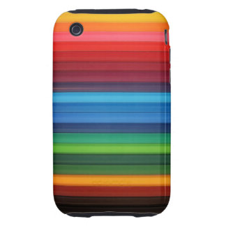 Bright Stripes iPhone 3 Tough Case