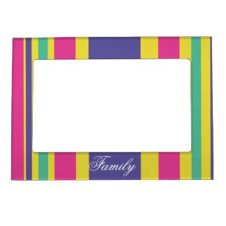 Bright Stripes Magnetic Frame