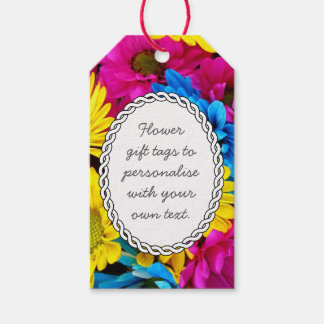 Bright Summer Bouquet Gift Tags
