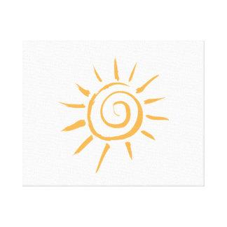 Bright Sun Gallery Wrap Canvas