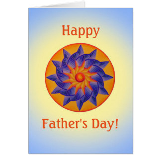 Bright Sun Father's Day Card