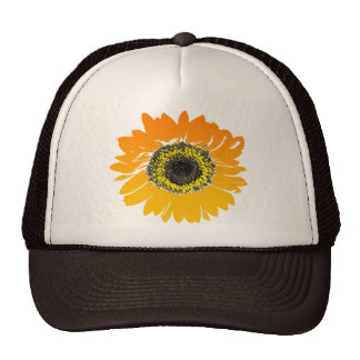 Bright Sunflower Cap