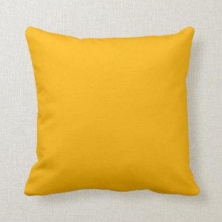Bright Sunflower Yellow Scatter  Throw Cushion