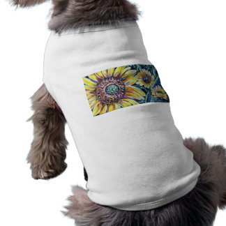 BRIGHT SUNFLOWERS DOG CLOTHES