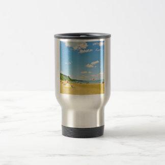 Bright Sunny Beach Day Coffee Mug