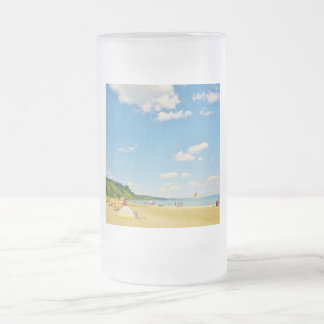 Bright Sunny Beach Day Mugs