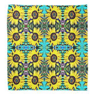 Bright Sunny Sunflower Bandanna | Country