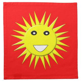 Bright Sunshine Napkin