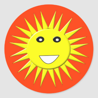 Bright Sunshine Sticker