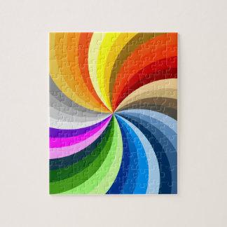 Bright swirl jigsaw puzzle
