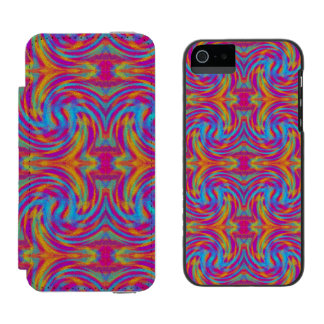 Bright Swirls Incipio Watson™ iPhone 5 Wallet Case