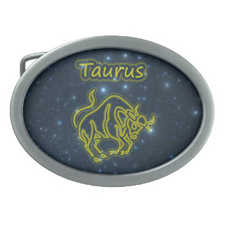 Bright Taurus Belt Buckles