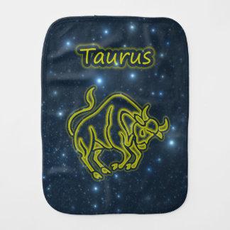 Bright Taurus Burp Cloth
