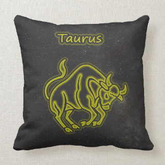 Bright Taurus Cushion