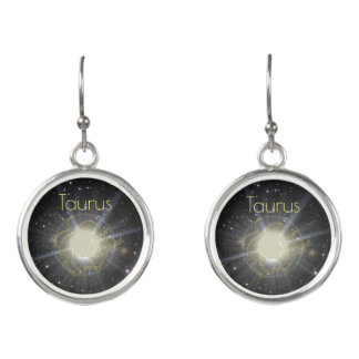 Bright Taurus Earrings