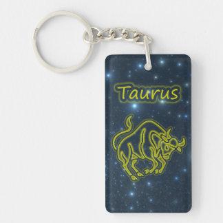 Bright Taurus Key Ring