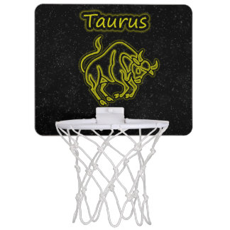 Bright Taurus Mini Basketball Hoop