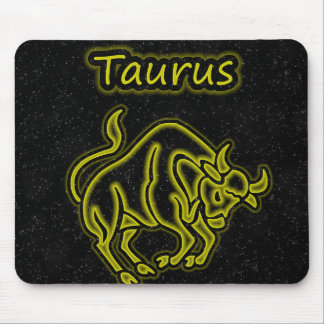 Bright Taurus Mouse Pad
