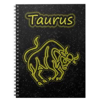 Bright Taurus Notebook