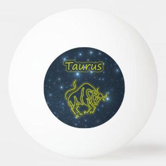 Bright Taurus Ping Pong Ball