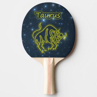 Bright Taurus Ping Pong Paddle