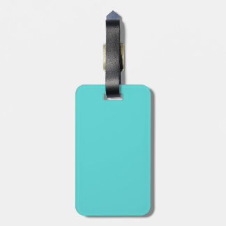 Bright Teal Personalise Me Travel Bag Tags