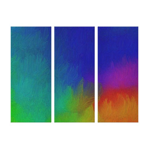 Bright Texture Stretched Canvas Print