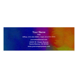 Bright Texture Pack Of Skinny Business Cards