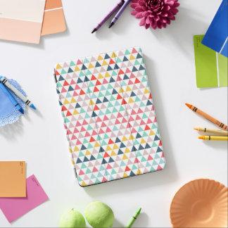 Bright Triangles Fun Color Pop iPad Air Cover