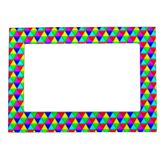 Bright triangles magnetic frame