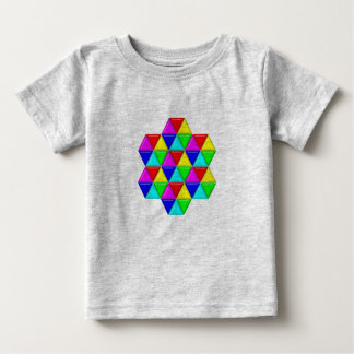Bright triangles shirt