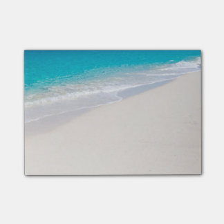 Bright Tropical Beach Post-it Notes