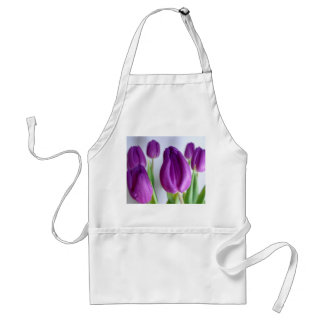 Bright Tulips Mother's Day Apron - choose color