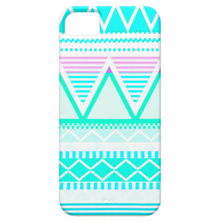 Bright Turquoise Tribal iPhone 5 Case