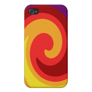 Bright Twirl iPhone 4 Cases