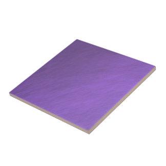 Bright Ultra Violet Purple Textured Pattern Tile