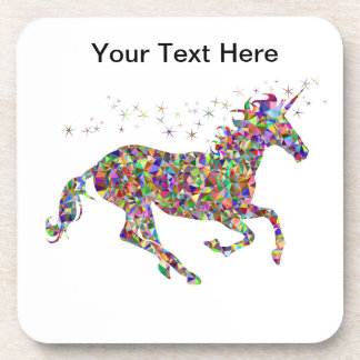 Bright Unicorn Coaster